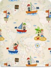 Decoration fabrics for children
