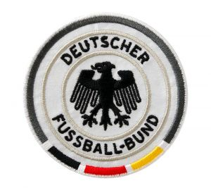 Football appliqué, DFB, 7cm easy to iron on