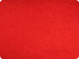 Felt sold by the yard, red, thickness ca. 1,5mm