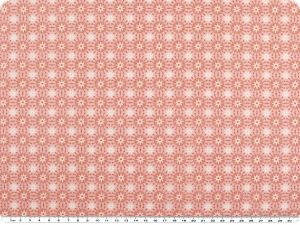 Nice cotton print, flowers, pink, 142-145cm