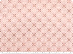 Nice cotton print, ornaments, pink, 142-145cm
