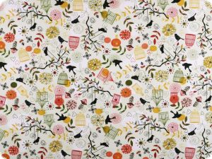 Decoration fabric, spring, percal cotton, 140cm