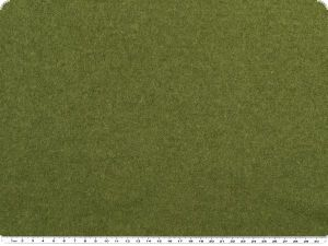 Boiled wool, walk/loden,ca.140cm,moss green