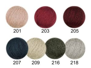 100 % Alpaca-knitting-wool, col.218, 50 gr/200