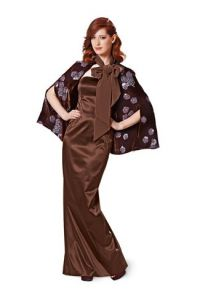 Burda pattern, cape, size: 36-50