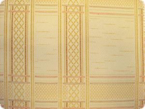 Flame-retardant, decorative fabric, extra broad, ecru, ca. 2