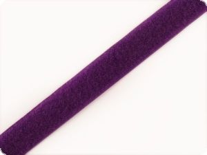Fleece ribbon, violet, 2cm