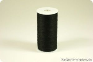 Sewing yarn, black, 200m, 100% polyester