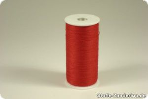 Sewing yarn, red, 200m, 100% polyester