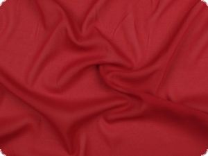 Valuable silk chiffon, cherry red, 135cm