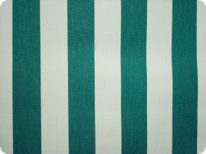 Awning cloth, tefloncoated, green stripes, 160cm