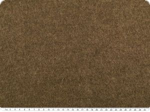 Top actual walk wool with 'moss'-touch, brown, 140cm