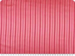 High quality satin, stripes, pink, 145cm