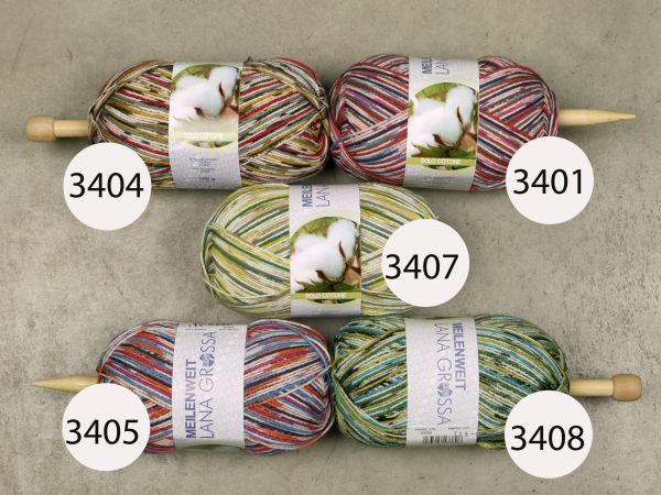 Strato 5414 Regia Cotton Surf Sock Yarn