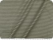 Cotton jersey, tubular fabric, black-grey, 70cm