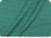 Cotton jersey, tubular fabric, turquoise-green, 70cm