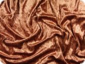 Panne velvet, cinnamon, high quality, ca. 150 cm
