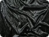 Panne velvet, good quality, black, ca. 150cm