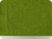 High quality terrycloth, green, 150cm