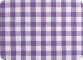 Cotton fabric with big checks ca. 1,8cm, violrt, 140cm