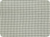 Cotton fabric, small squares, grey, 140cm