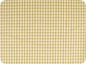 Cotton fabric, small squares, brown, 140cm