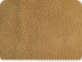 Curly teddy fabric, light brown