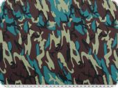 Cottonprint on fine twill, camouflage, multicolour, 145cm
