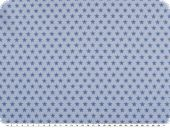 Sweatshirt jersey fabric, stars,light blue-blue, 150cm