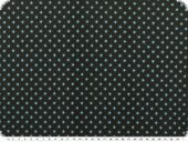 Cotton jersey with small stars, black-light blue, 150cm