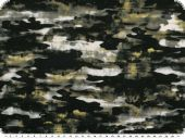 Fashionable viscose jersey camouflage, multicolour, 150cm