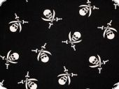 Children fabric, pirates, cotton print, for garment and deco
