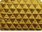 Fashionable lame quilt, gold, 130cm