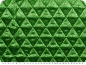 Fashionable lame quilt, green, 130cm