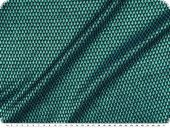 Knitted fabric with lurex & glitter, green-black, width150cm
