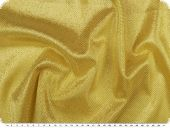 Knitted fabric with lurex & glitter, yellow, 150cm