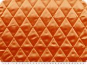 Fashionable quilt, plain, orange, ca. 140cm
