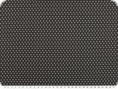 Cotton poplin, small stars, black-grey, 145cm
