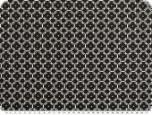 Mathilda's poplin fabric, ornament-stars, black, 145cm