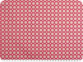 Cotton poplin, dots, pink-grey, 142cm