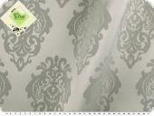 Table cloth fabric, damasco,  teflon coated, cement, 160cm