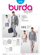 Burda pattern, suit, size: 44-54
