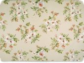 Deco fabric , flowers, multicolour, 140cm