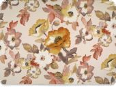 Deco fabric , flowers, nature, 140cm