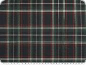 Tartan fabric, stretch, multicolour, ca. 140cm