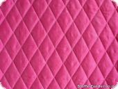 Fashionable taffeta quilt, pink, both-sided, ca. 140cm