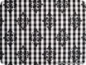Fashionable jacquard-square-fabric, blended fabric, ca.150cm