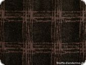 Very fashionable fabric, wool-blended fabric, redbrown