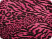 High qualiy walk fabric, fur pattern, violet, 150cm