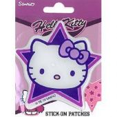 Decorative Patch, Hello Kitty face, self-adhesive